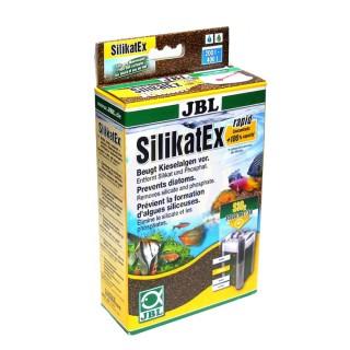 JBL SilicatEx Rapid 500g Risolve I problemi di alghe diatomee elimina silicato e fosfato in acquario
