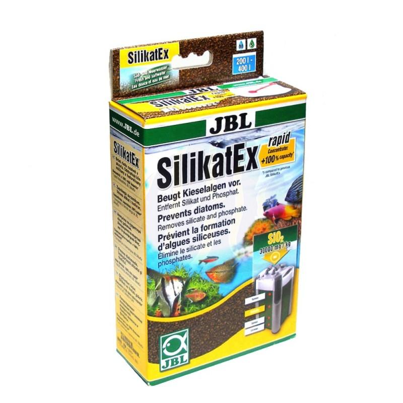JBL SilicatEx 500g Risolve I problemi con le diatomee, elimina il silicato ed il fosfato, le sostanze nutritive delle alghe