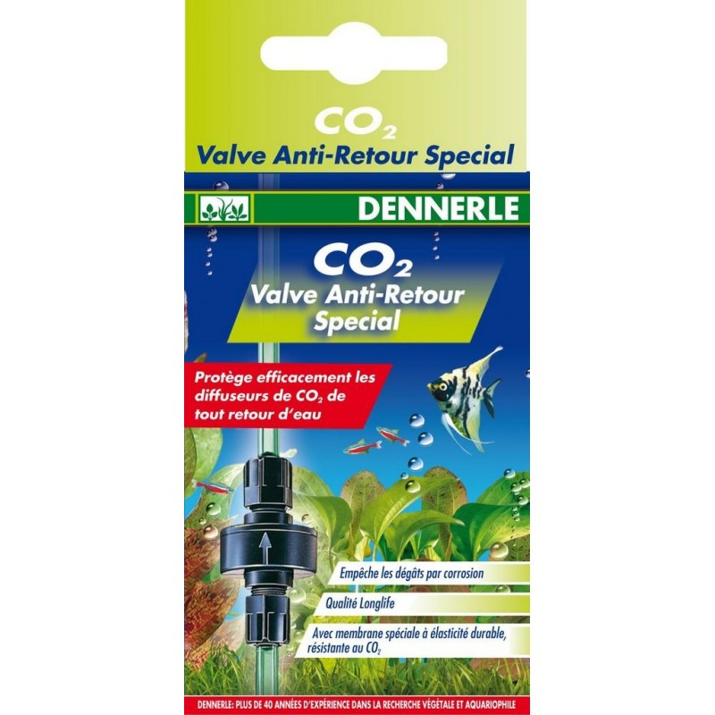 Dennerle 3053 Valvola Speciale di non Ritorno Co2 anidride carbonica in acquario