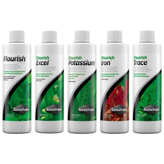 Seachem Fertilizzante Protocollo base da 250 ml Flourish
