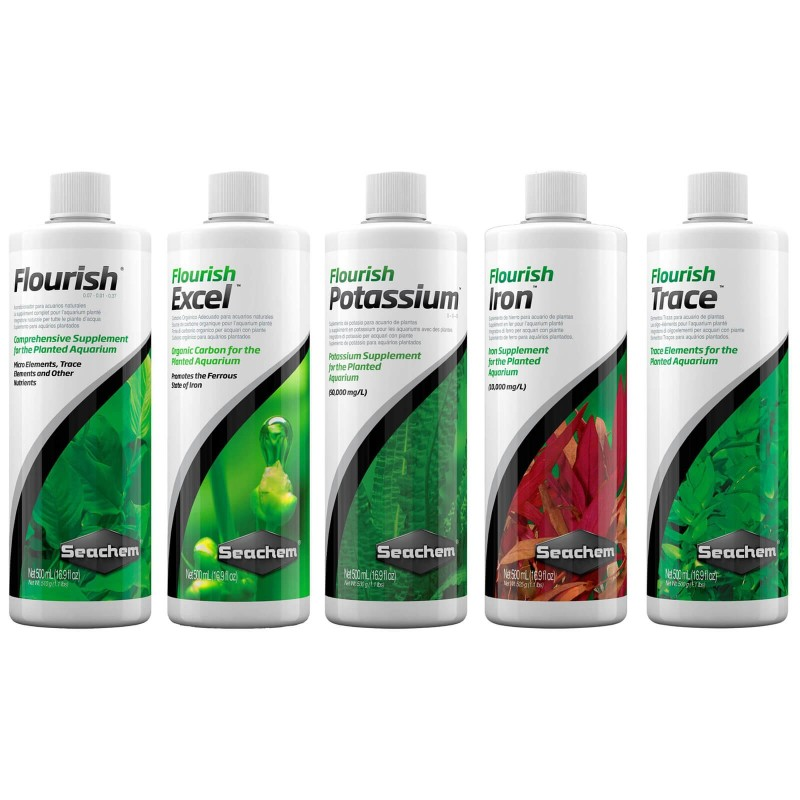 Seachem Protocollo base da 500 ml Flourish