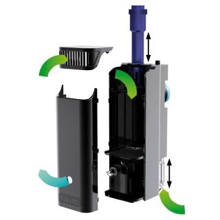 Tunze Comline Nanofilter 3162 filtro interno regolabile