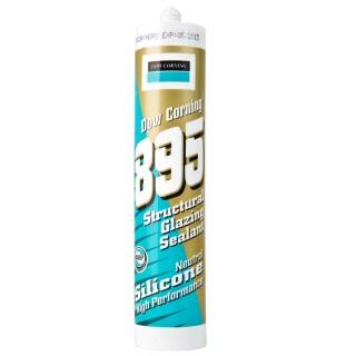 Silicone per acquario Dow Corning 895 strutturale Nero 310 ml