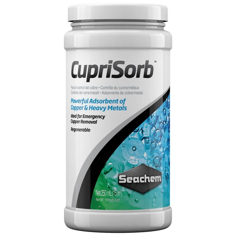 Seachem CupriSorb elimina rame e metalli