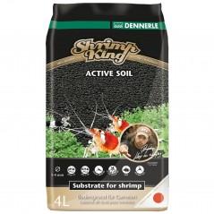 Dennerle 6177 Shrimp King Active Soil 4 Litri Fondo per caridine