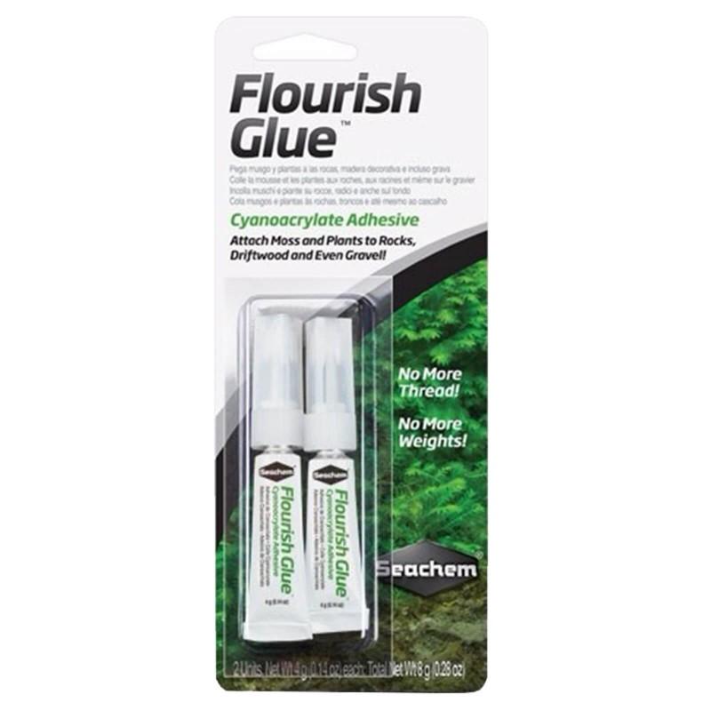 Seachem Flourish Glue colla per piante  2 astucci