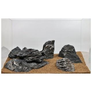 Roccia Seiryu Stone allestimento