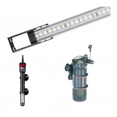 Eheim Vivaline LED 126 illuminazione filtro e riscaldatore
