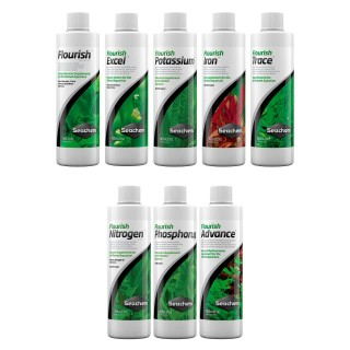 Seachem Fertilizzante Protocollo completo da 250 ml Flourish