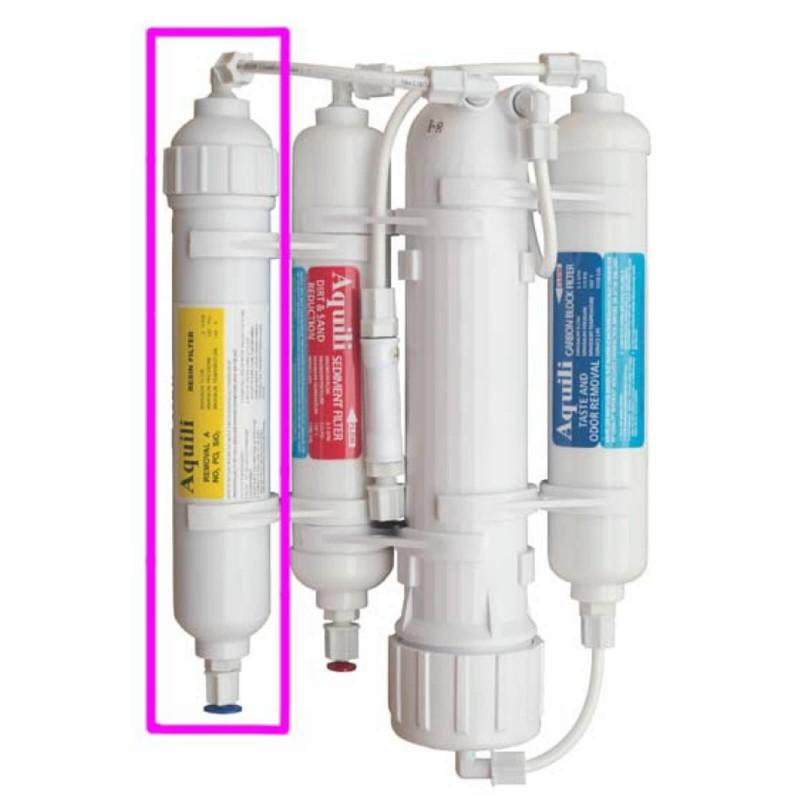 Aquili Impianto osmosi con 4 stadi filtro anti NO3 PO4 SiO2 da 190 litri