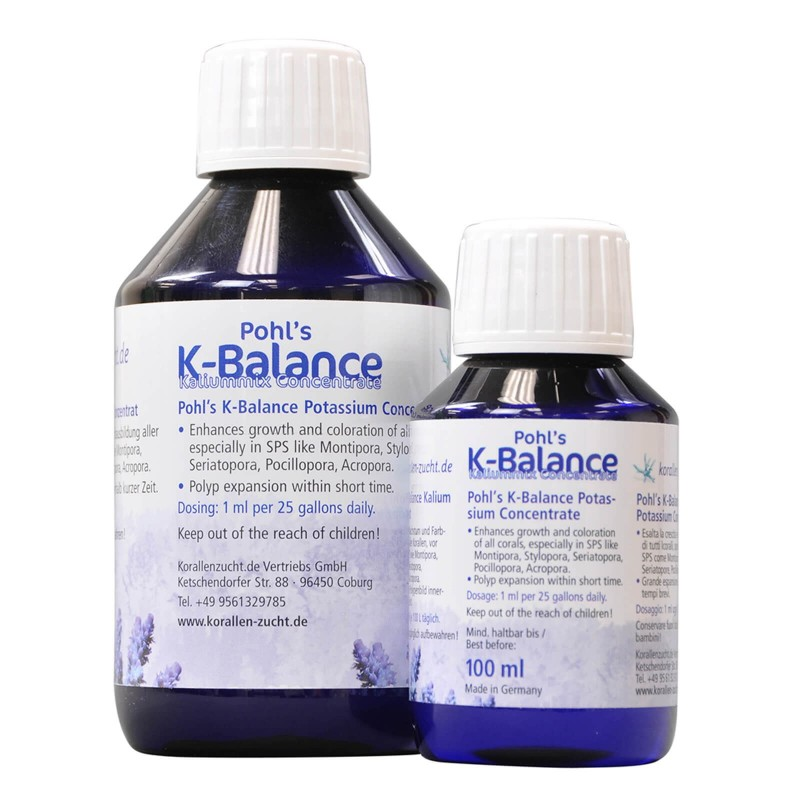 Korallen Zucht Pohl's K-Balance Potassio Mix Concentrato