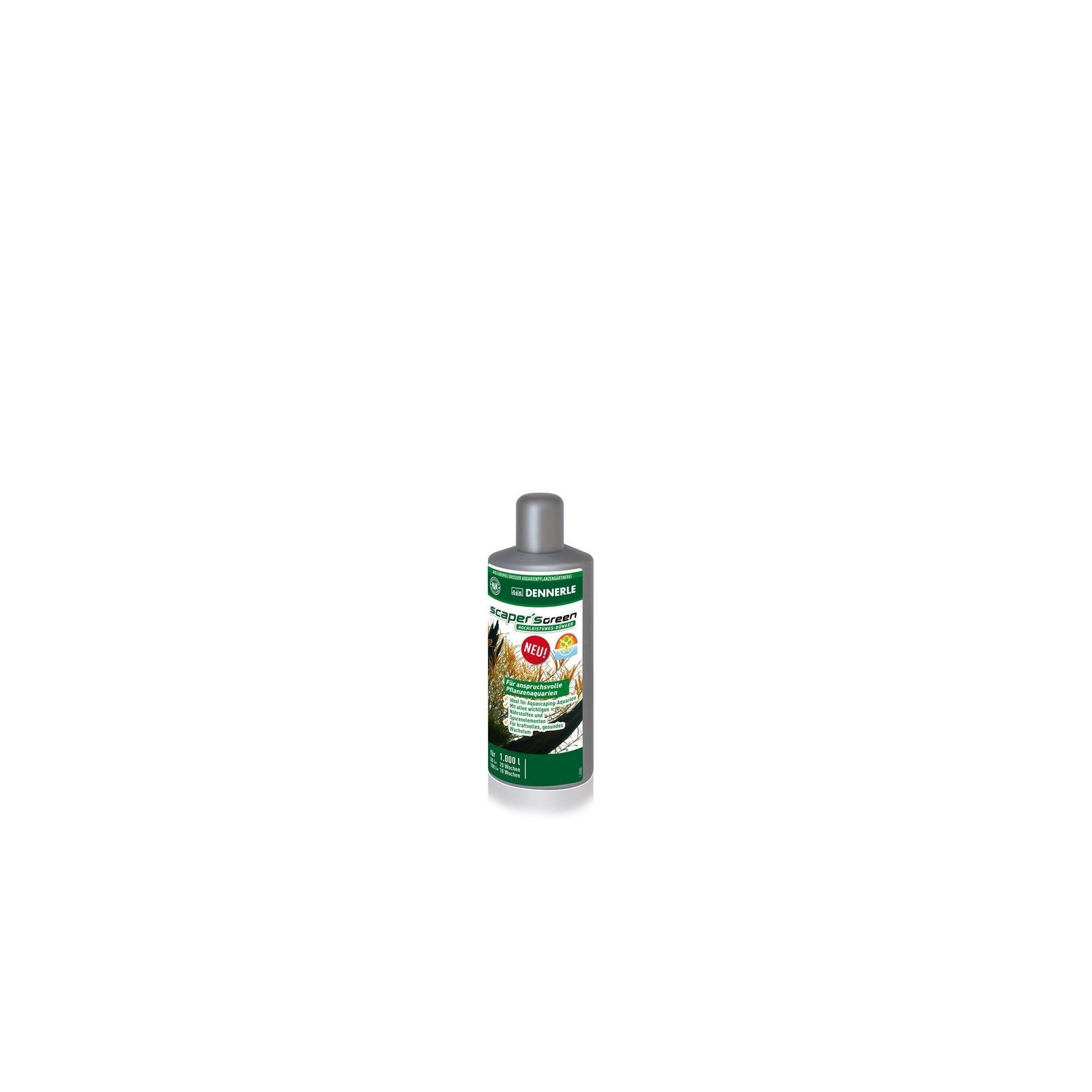 Dennerle 4530 Scaper's Green 100 ml fertilizzante completo per acquari con piante particolarmente esigenti