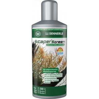 Dennerle 4531 Scaper's Green 250 ml fertilizzante completo per acquari con piante particolarmente esigenti