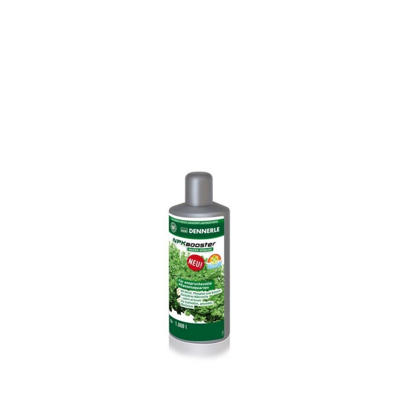 Dennerle 4533 NPK Booster 100 ml integratore di azoto, fosforo e potassio ad azione rapida per acquari piantumati