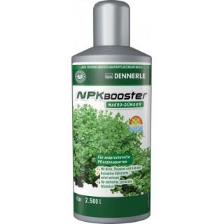 Dennerle 4534 NPK Booster 250 ml integratore di azoto, fosforo e potassio ad azione rapida per acquari piantumati
