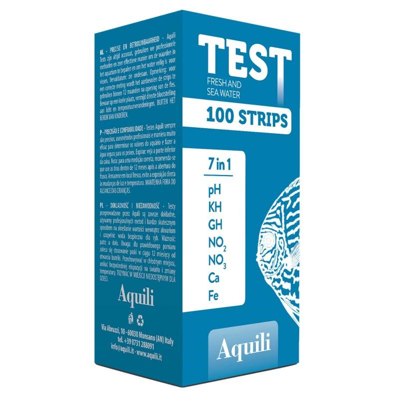 Aquili test 7 in 1 per acquario
