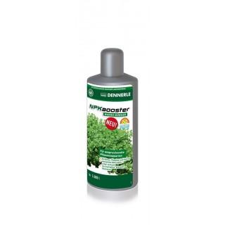 Dennerle 4535 NPK Booster 500 ml integratore di azoto, fosforo e potassio ad azione rapida per acquari piantumati