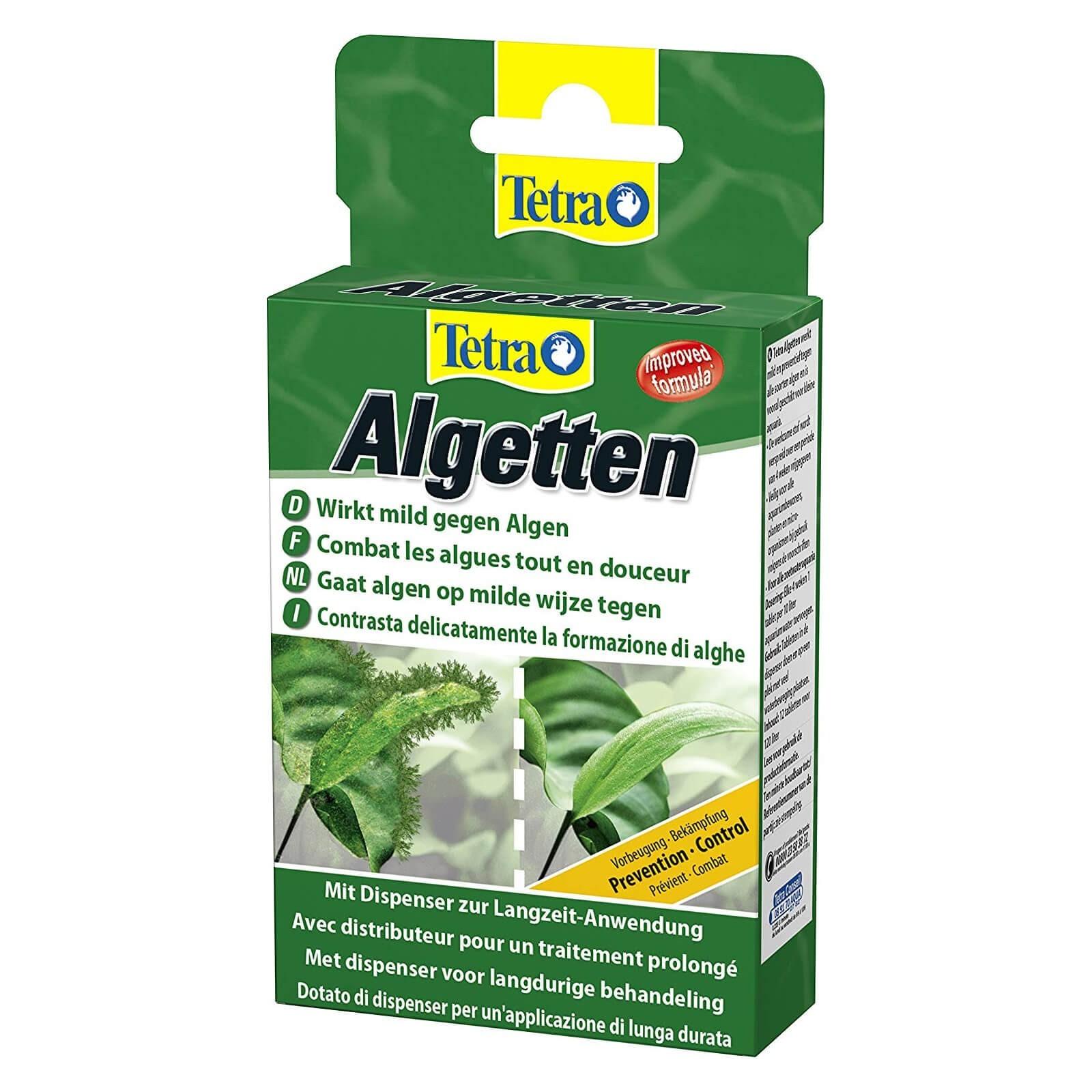 Tetra Algetten Contrasta la formazione di alghe in acquario dispenser a lunga durata