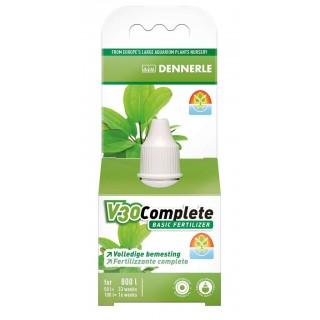 Dennerle 4536 V30 Fertilizzante base per tutte le piante d'acquario 25ml