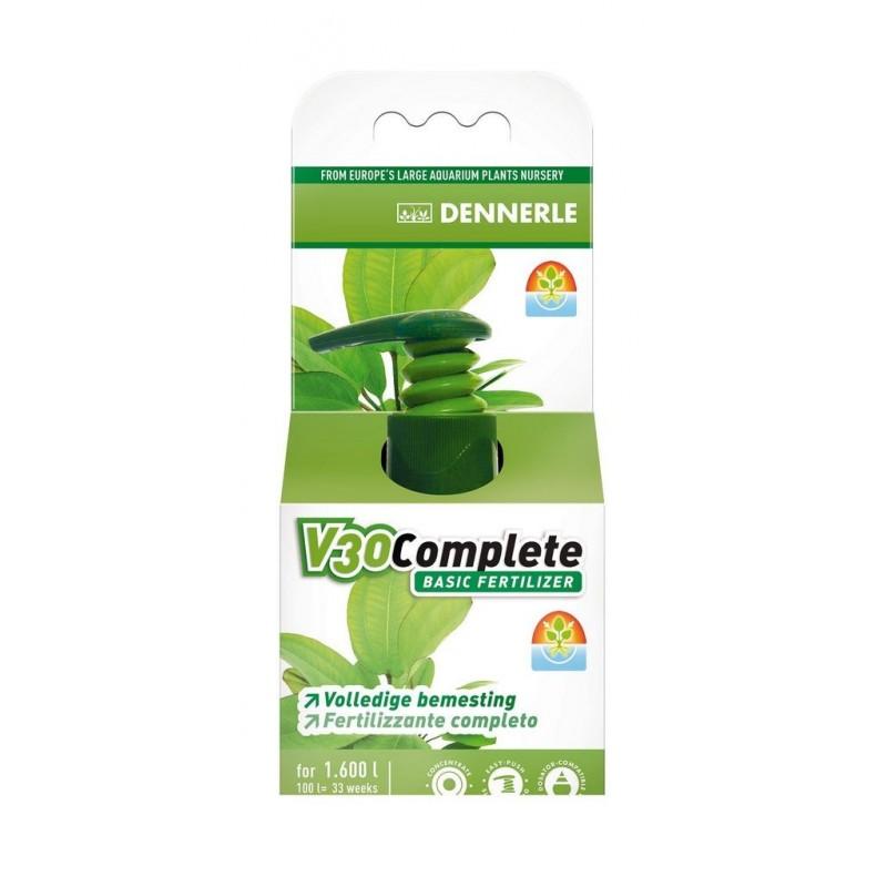 Dennerle 4537 V30 Fertilizzante base per tutte le piante d'acquario 50ml