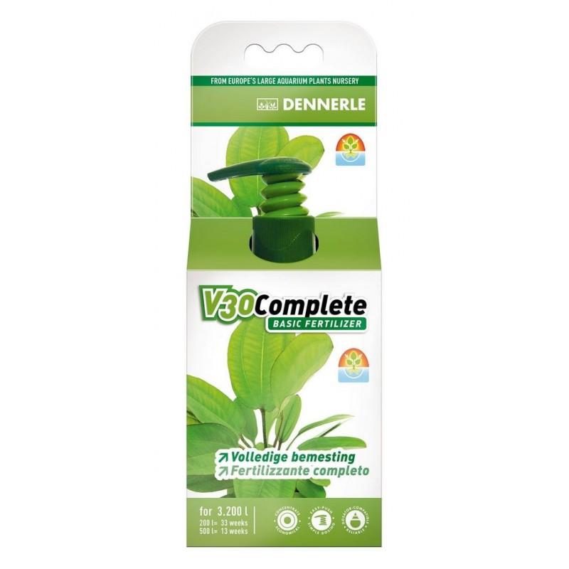 Dennerle 4538 V30 Fertilizzante base per tutte le piante d'acquario 100ml