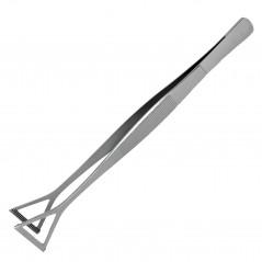 Pinza punte triangolari  25 cm acciaio