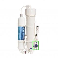 Aquili Impianto osmosi per acquario con 2 stadi da 290 litri al giorno con valvola di lavaggio