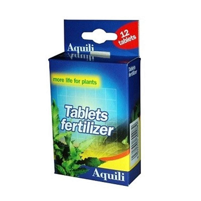 Aquili Tablets Fertilizer Fertilizzante per radici compresse 12 tabs fertilizzante da fondo