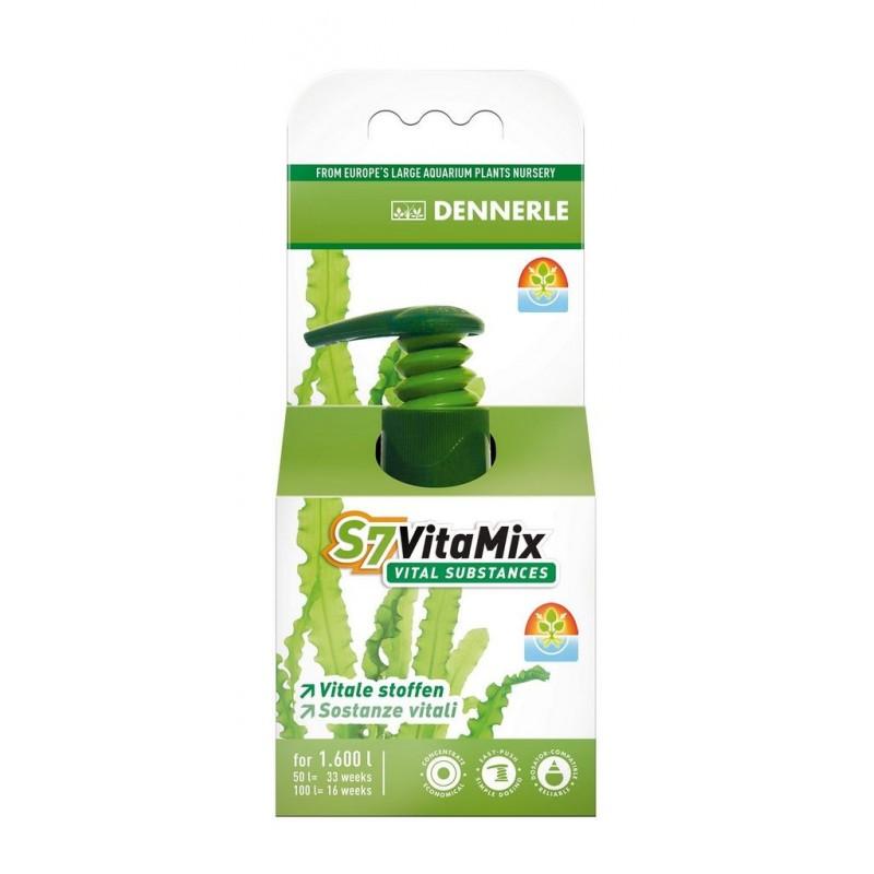 Dennerle 4543 S7 VITAMIX Oligoelementi e vitamine d'acquario  50ml