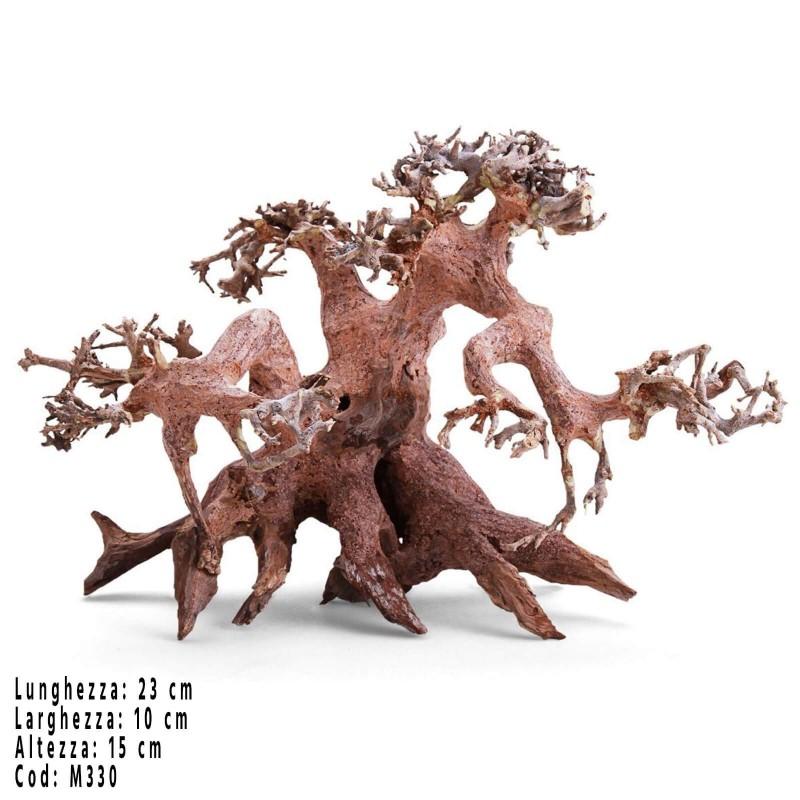 Bonsai albero per acquario Wood M330