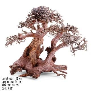 Bonsai albero per acquario Wood M601 9M