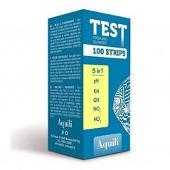 Aquili test per acquario 5 in 1 100 misurazioni
