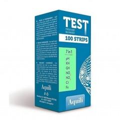 Aquili test per acquario 7 in 1 100 misurazioni