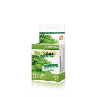 Dennerle Planta Gold7 stimola la crescita delle piante in acquario 20 compresse