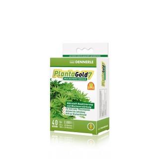 Dennerle Planta Gold7 stimola la crescita delle piante in acquario 40 compresse