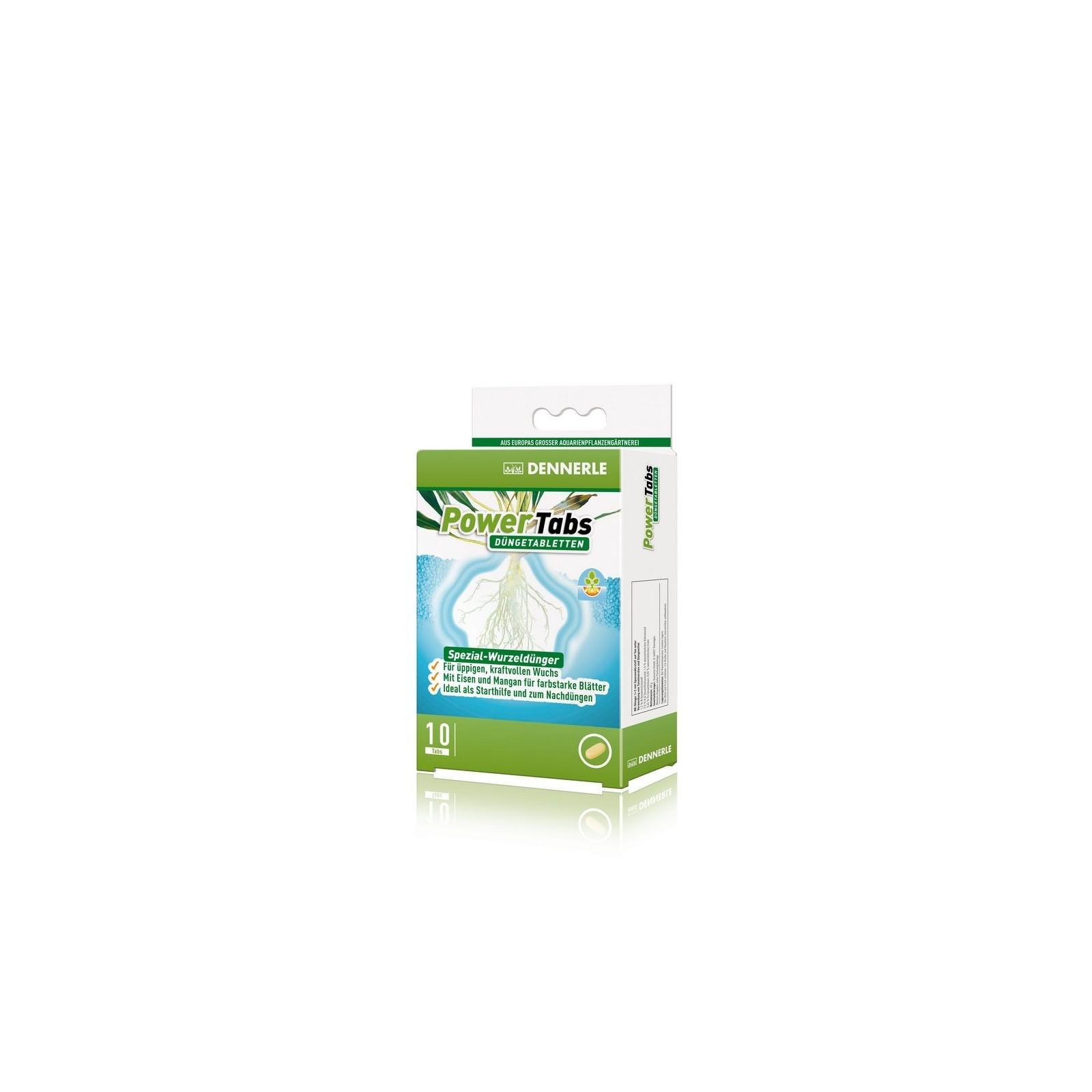 Dennerle 4556 Power Tabs fertilizzante speciale in compresse per tutte le piante acquatiche 10 cpr