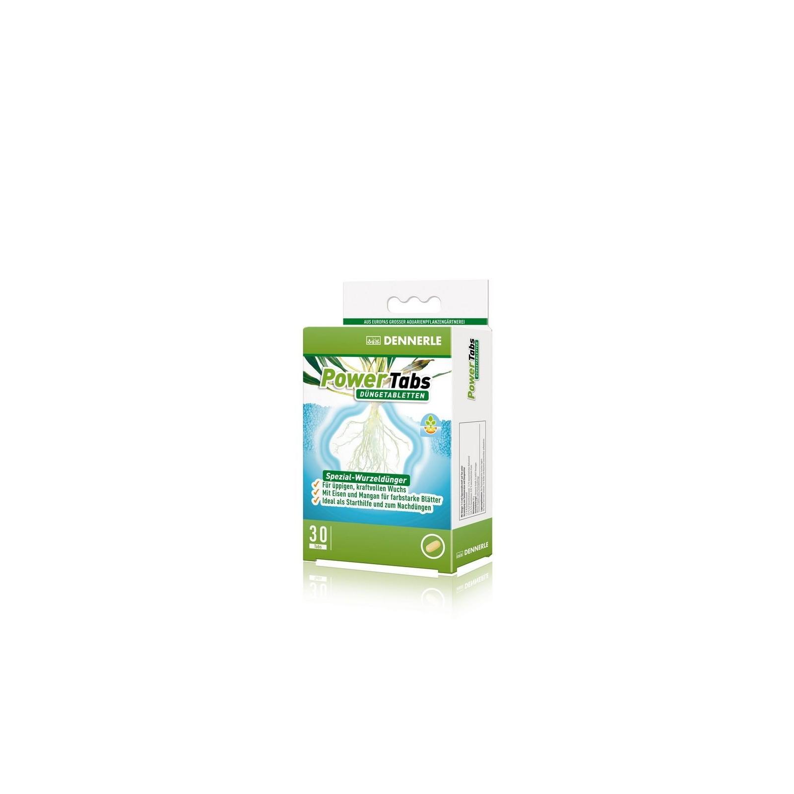 Dennerle 4557 Power Tabs fertilizzante speciale in compresse per tutte le piante acquatiche 30 cpr