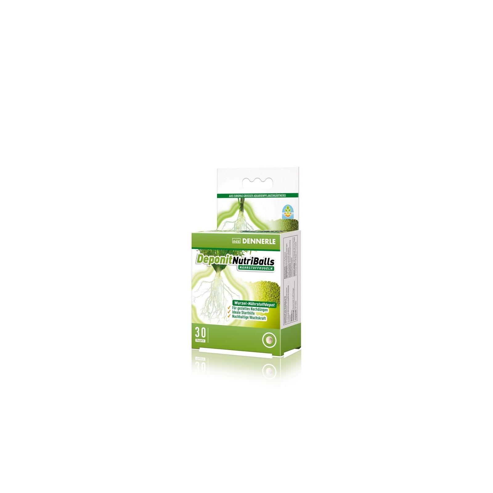 Dennerle Deponit nutriballs 30 palline Fertilizzanti per piante d'acquario
