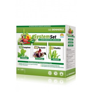 Dennerle 4578 Perfect Plant System Kit fertilizzanti E15-V30-S7 vitamix 50ml per 1600Lt