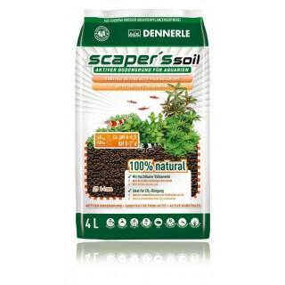 Dennerle 4580 Scaper's Soil 4 Litri Fondo attivo per acquari