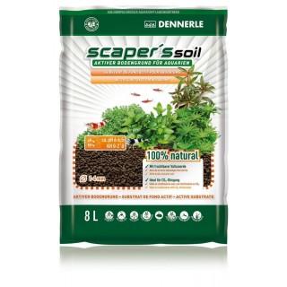 Dennerle 4581 Scraper's Soil 8 Litri Fondo attivo per acquari