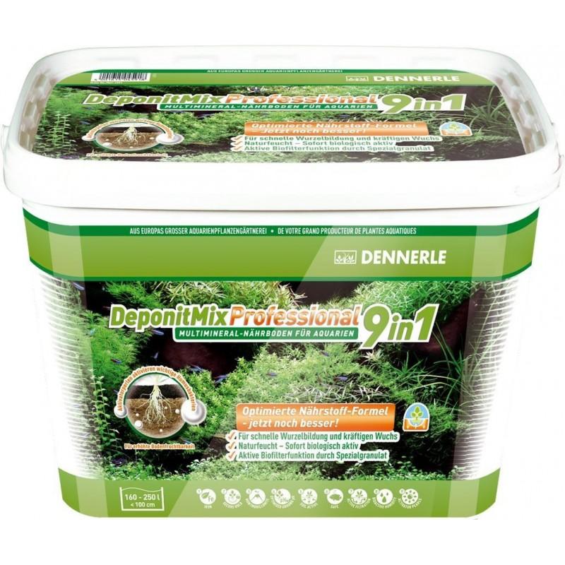 Dennerle 4597 Deponit Mix Professional fondo fertilizzante 9,6kg per acquari 200 litri