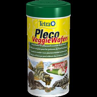 Tetra Pleco Wafers 250 ml Mangime specifico per pesci da fondo erbivori d'acquario