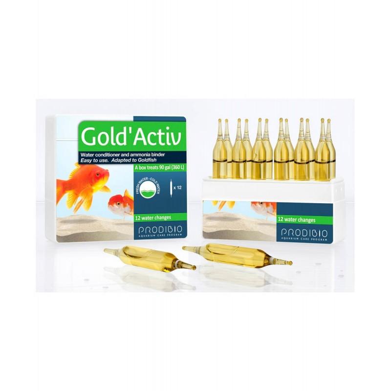 Prodibio Gold'Activ biocondizionatore per pesi rossi