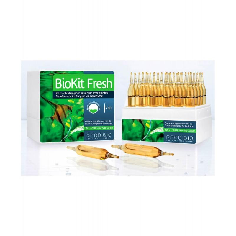 Prodibio BioKit Fresh manutenzione completa per acquario dolce