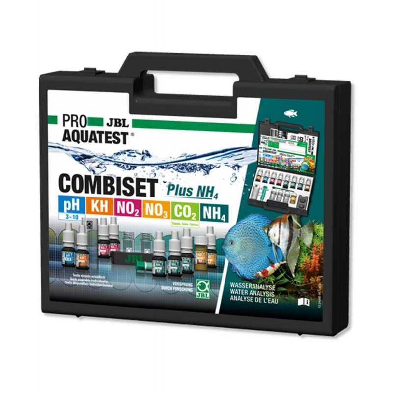 JBL Proaquatest CombiSet plus NH4 valigetta test per acquario