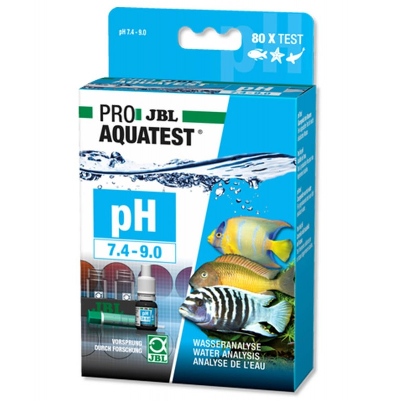 JBL Proaquatest Test PH per acquario acqua dolce e marina scala da 7,4-9