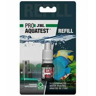 JBL Proaquatest ricarica Test GH durezza totale per acquario refill