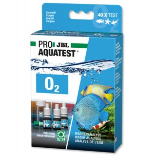 JBL Proaquatest Test O2 per Misurazione dell'Ossigeno in acquario Acqua Dolce e Marina