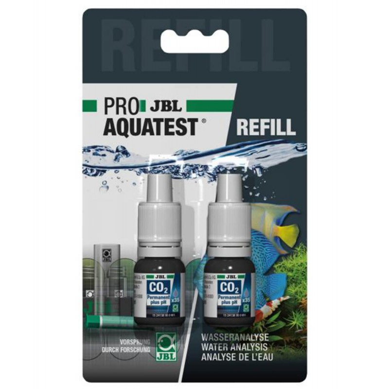JBL Proaquatest ricarica Test permanente CO2 e PH per acquario refill